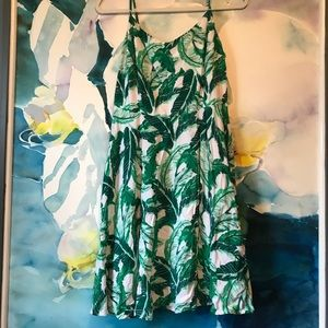 Old Navy • Palms Print A-Line Dress